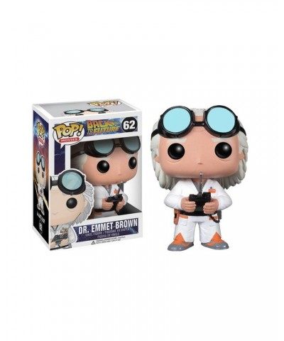Doc Brown: Regreso al Futuro Funko Pop! Vinyl