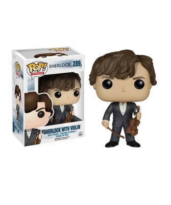 Sherlock with Violin Funko Pop! Vinyl