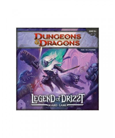 Juego de mesa The Legend of Drizzt Dungeons & Dragons (Inglés)
