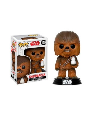 Chewbacca con Porg Star Wars The Last Jedi Funko Pop! Bobble Vinyl