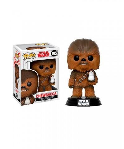 Chewbacca con Porg Star Wars The Last Jedi Funko Pop! Bobble Vinyl
