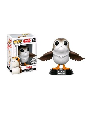 EXCLUSIVE Porg The Last Jedi Star Wars Funko Pop! Bobble Vinyl