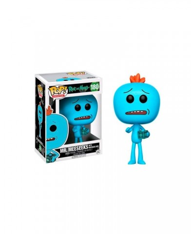 EXCLUSIVE Mr Meeseeks with box Rick y Morty Funko Pop! Vinyl