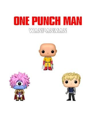 """Pack """"Wanpanman"""" One-Punch Man Funko Pop! Vinyl"""