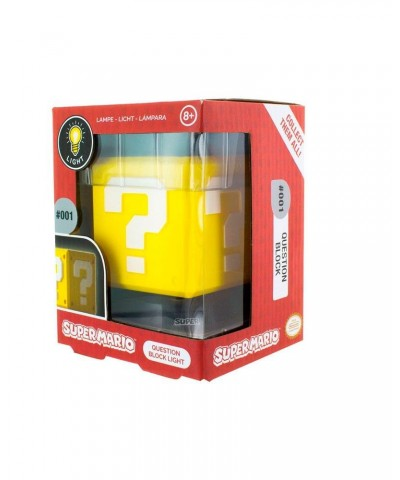 Lámpara 3D Question Block Super Mario Nintendo 10 cm