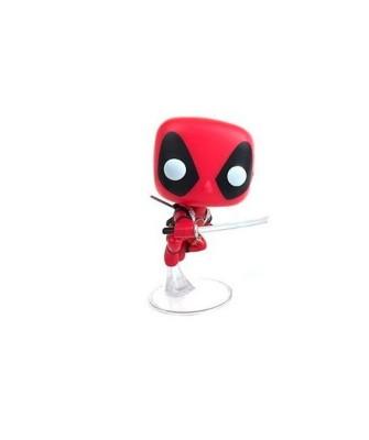EXCLUSIVE Deadpool Leaping Marvel Collector Corps Funko Pop! Vinyl