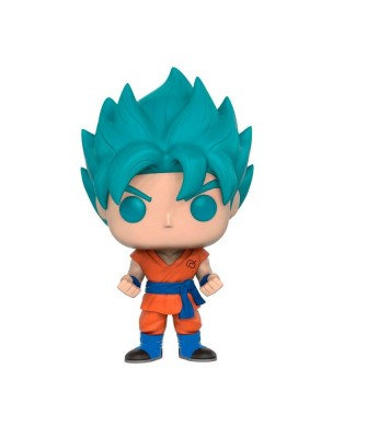 EXCLUSIVE (Blue) Super Saiyan God Super Saiyan Goku Dragon Ball Z Funko Pop! Vinyl