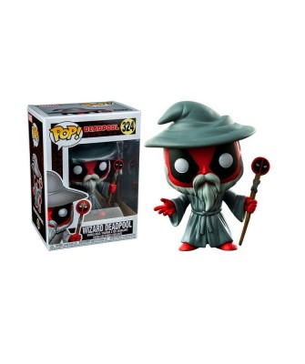 Deadpool Wizard Funko Pop! Bobble Vinyl