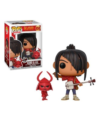 Kubo with Little Hanzo Kubo and The Two Strings Funko Pop! Vinyl