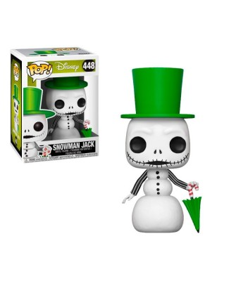 Snowman Jack Nightmare Before Christmas Disney Funko Pop! Vinyl