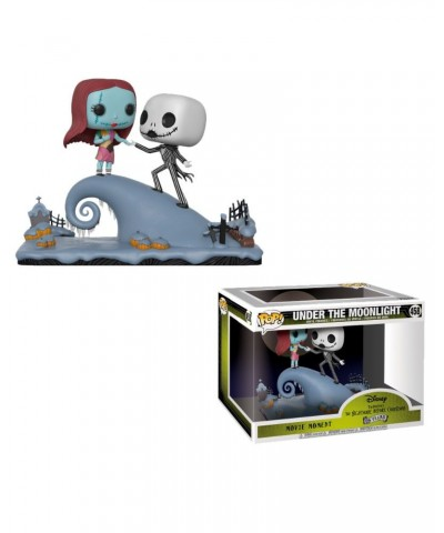 Jack and Sally on the Hill Movie Moment Nightmare Before Christmas Funko Pop! Vinyl