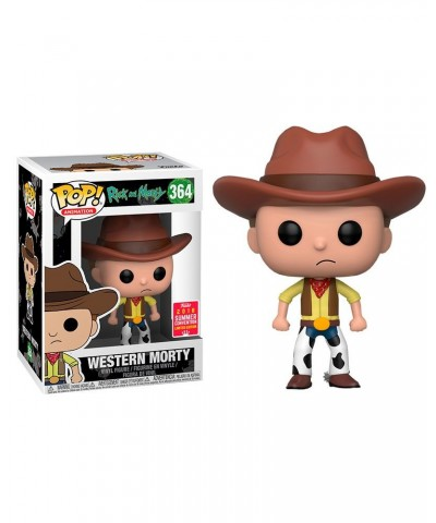 Summer Convention Limited Edition 2018 Western Morty Rick y Morty Funko Pop! Vinyl