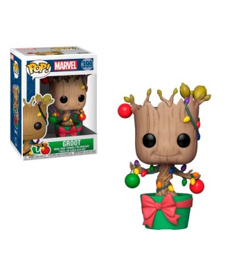 Groot with Lights & Ornaments Marvel Holiday Funko Pop! Vinyl