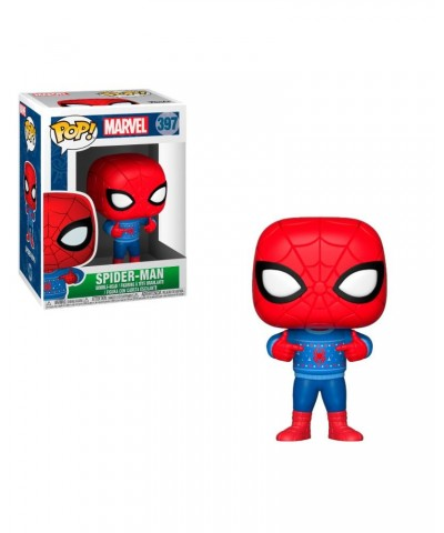 Spider-Man with Ugly Sweater Marvel Holidays Funko Pop! Vinyl
