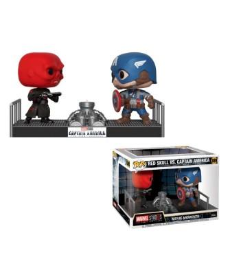 Captain America / Red Skull Marvel Movie Moments Funko Pop! Bobble Vinyl