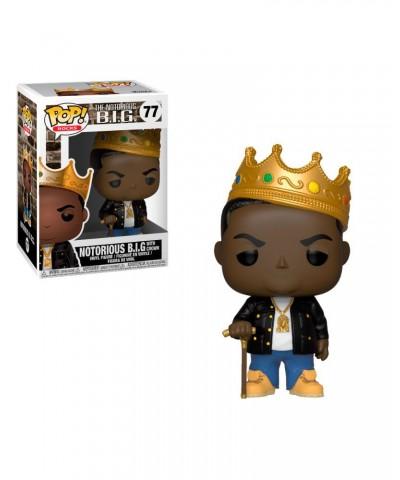 Notorious B.I.G. with Crown Rocks Funko Pop! Vinyl