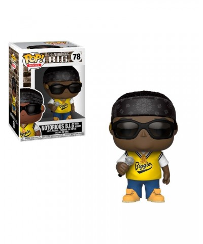 Notorious B.I.G. in jersey Rocks Funko Pop! Vinyl