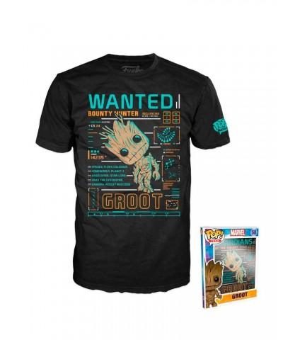 Camiseta Groot Guardians of the Galaxy Funko Pop! Tees Talla L