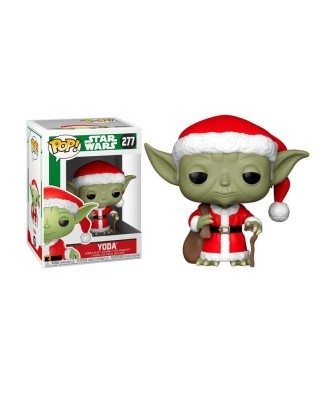 Santa Yoda Holiday Star Wars Funko Pop! Vinyl