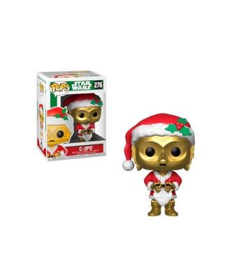 C-3PO as Santa Holiday Star Wars Funko Pop! Bobble Vinyl
