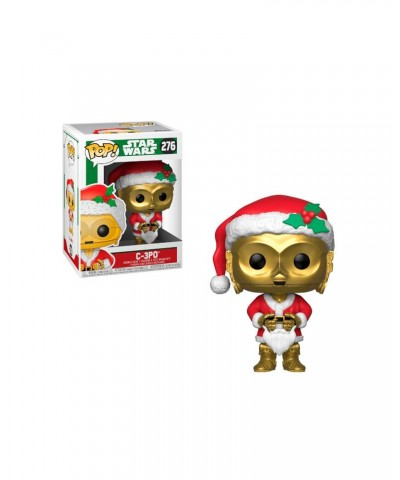C-3PO as Santa Holiday Star Wars Funko Pop! Bobble Vinyl