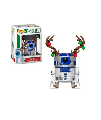 R2-D2 with Antlers Holiday Star Wars Funko Pop! Bobble Vinyl