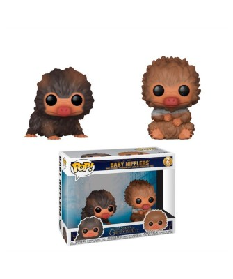 2 Pack Baby Nifflers The Crimes of Grindelwald Funko Pop! Vinyl