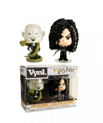 Pack 2 Lord Voldemort & Bellatrix Harry Potter Funko Vynl