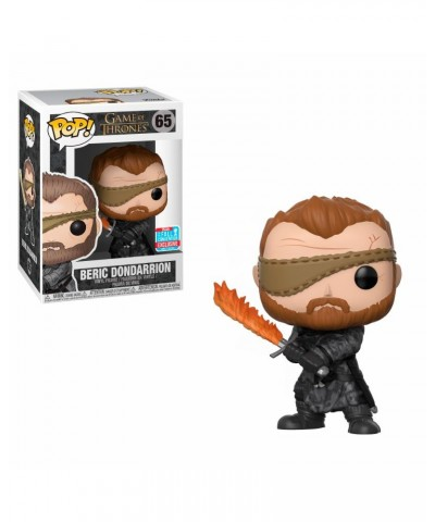 NYCC Fall Convention Beric Dondarrion w/ Flame Sword Game of Thrones Funko Pop! Vinyl