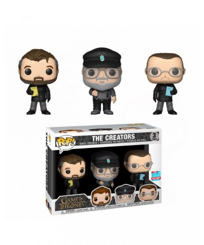 NYCC Fall Convention 3-Pack - Show Creators Game of Thrones Funko Pop! Vinyl