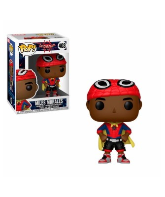 Miles Morales with Cape Spider-Man Into the Spider-Verse Marvel Funko Pop! Vinyl