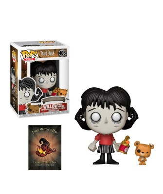 Willow with Bernie Don't Starve Funko Pop! Vinyl