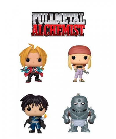 Pack Fullmetal Alchemist Funko Pop! Vinyl