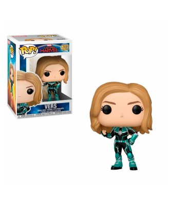 Vers Captain Marvel Funko Pop! Vinyl