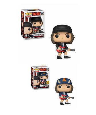 Angus Young AC/DC Funko Pop! Rocks Vinyl (Chase Aleatorio)