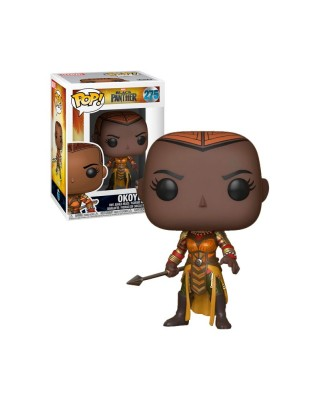Okoye Black Panther Marvel Funko Pop! Bobble Vinyl