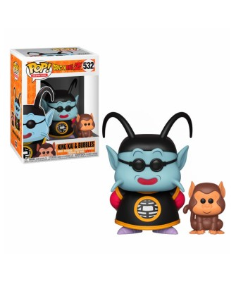 King Kai & Bubbles Dragon Ball Z Funko Pop! Vinyl