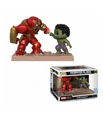 Fall Convention 2018 Movie Moment: Marvel - Hulkbuster vs. Hulk Marvel Funko Pop! Bobble Vinyl