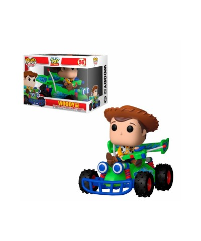 Woody with RC Toy Story Disney Funko Pop! Rides Vinyl