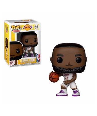 Lebron James (White Uniform) Los Angeles Lakers Basketball Funko Pop! Vinyl [52]