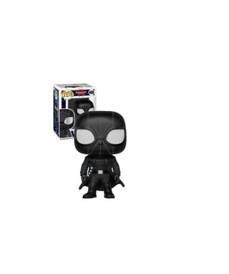 Spider-Man Noir Spider-Man Into the Spider-Verse Marvel Muñeco Funko Pop! Bobble [409]