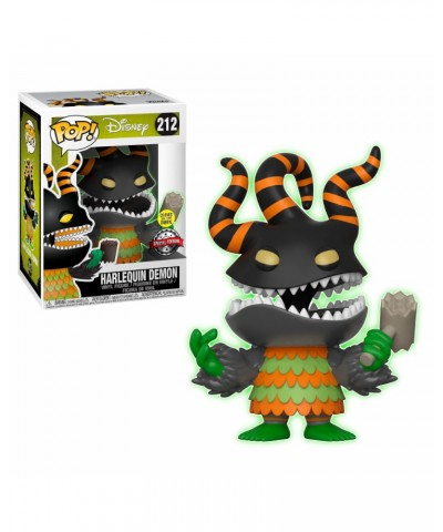 Special Edition Harlequin Demon GITD Nightmare before Christmas Disney Muñeco Funko Pop! Vinyl [212]