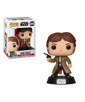 Han Solo Star Wars Muñeco Funko Pop! Bobble Vinyl [286]