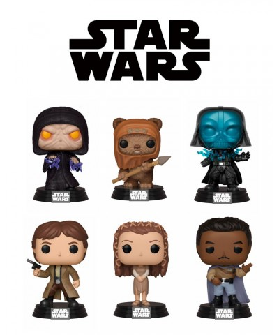 Pack Star Wars Muñeco Funko Pop! Bobble Vinyl