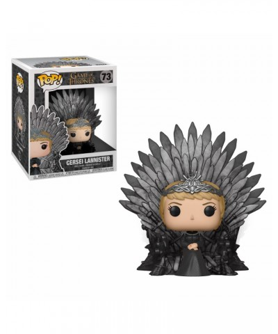 Cersei sitting on Throne Game of Thrones Muñeco Funko Pop! Deluxe Vinyl [73]