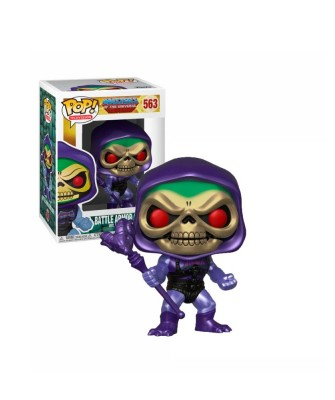 Skeletor with Battle Armor (Metallic) Masters of the Universe Muñeco Funko Pop! Vinyl [563]