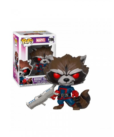 Rocket Raccoon (Classic) Guardians of the Galaxy Marvel Funko Pop! Bobble Vinyl [396]