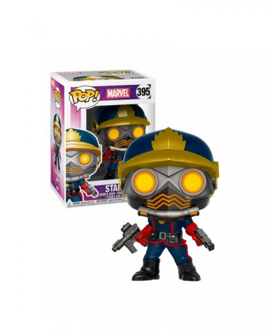 Star-Lord (Classic) Guardians of the Galaxy Marvel Muñeco Funko Pop! Bobble Vinyl [395]