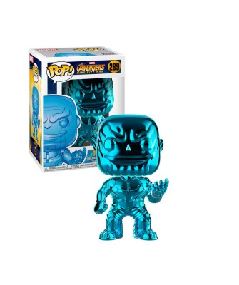 Special Edition Thanos Chrome Blue Avengers Infinity War Marvel Muñeco Funko Pop! Bobble [289]