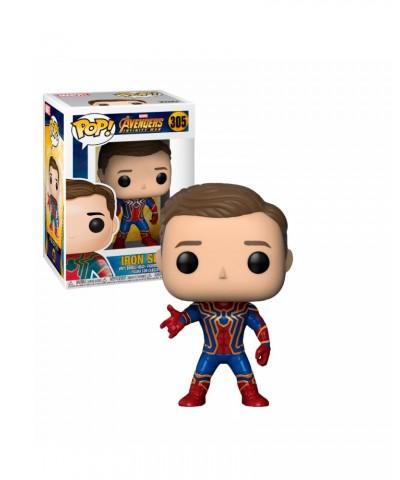 Iron Spider (Unmasked) Marvel Avengers Infinity War Muñeco Funko Pop! Vinyl Bobble [305]